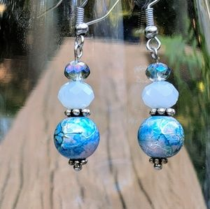 Jewelry - Handcrafted earrings with quality stones